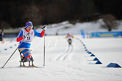 ANDREEVA Nadezda, RUS at the 2014 IPC Nordic Skiing World Cup Finals - Middle Distance