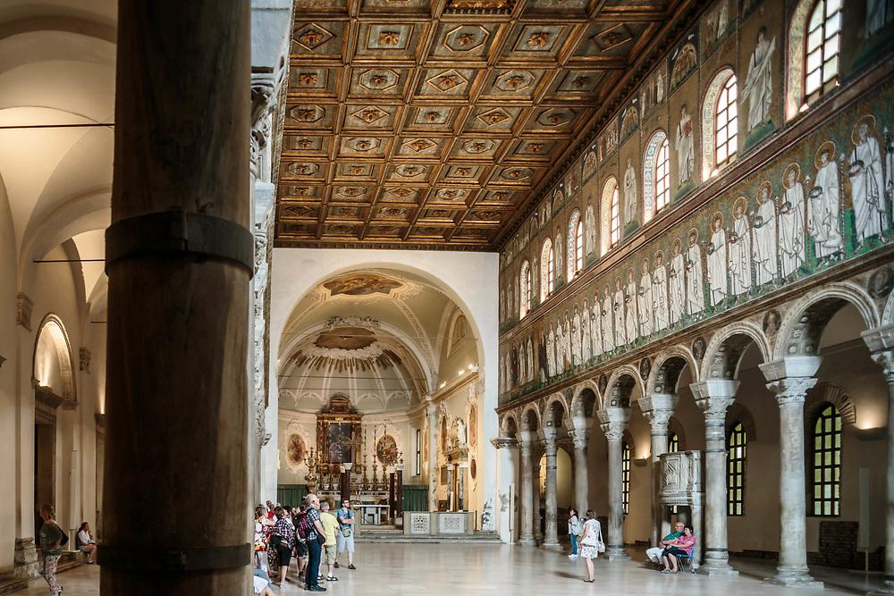 11 JUN 2016 - Ravenna - Basilica di Sant'Apollinare Nuovo.