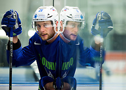 Jan Urbas of Slovenia during practice session of Slovenina Ice Hockey National Team at Day 4 of 2015 IIHF World Championship, on May 4, 2015 in Practice arena Vitkovice, Ostrava, Czech Republic. Photo by Vid Ponikvar / Sportida