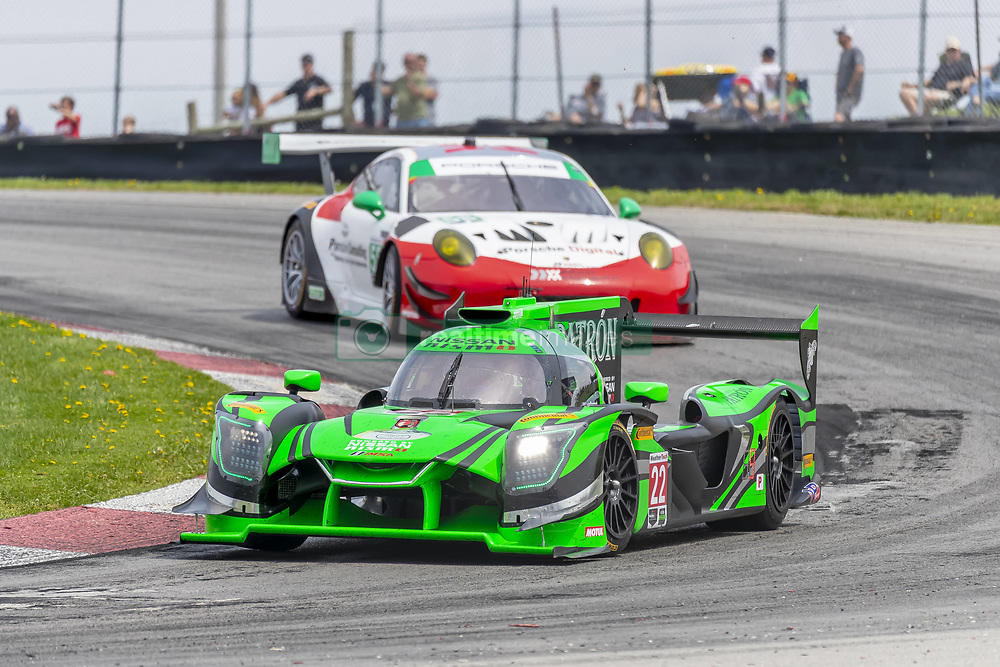 May 6, 2018 - Lexington, Ohio, United States of America - The Tequila Patron ESM Nissan DPI car races through the keyhole turn during the the Acura Sports Car Challenge at Mid Ohio Sports Car Course in Lexington, Ohio. (Credit Image: © Walter G Arce Sr Asp Inc/ASP via ZUMA Wire)