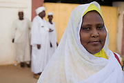 Maha Faraigon, organiser of the first-ever international Conference on Womens' Challenge in Darfur. They gathered in a compound belonging to the Govenor of North Darfur in Al Fasher (also spelled, Al-Fashir) where the women from remote parts of Sudan gathered to discuss peace and political issues.
