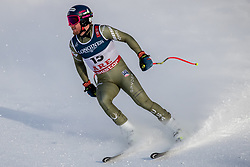 11.02.2019, Aare, SWE, FIS Weltmeisterschaften Ski Alpin, alpine Kombination, Herren, Abfahrt, im Bild Ted Ligety (USA) // Ted Ligety of the USA reacts after the Downhill competition of the men's alpine combination for the FIS Ski World Championships 2019. Aare, Sweden on 2019/02/11. EXPA Pictures © 2019, PhotoCredit: EXPA/ Dominik Angerer
