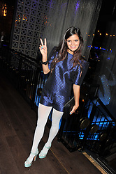 BIP LING at the ZEO 'Just January' Party held at the Buddha Bar, 145 Knightsbridge, London SW1 on 31st January 2013.