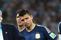Fifa Soccer World Cup - Brazil 2014 -  FINAL MATCH  - <br /> GERMANY (GER) Vs. ARGENTINA (ARG) - Estadio do Maracana Rio De Janeiro (BRA)  -Brazil (BRA) - 13 July 2014 <br /> Here Argentine player SERGIO KUN AGUERO CRY  after losing the final match<br /> © PikoPress