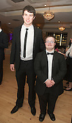 Patrick Canning and James O'Connell at the Ability West Best Buddy Ball and award night at the Menlo Park Hotel Galway. Photo:Andrew Downes.
