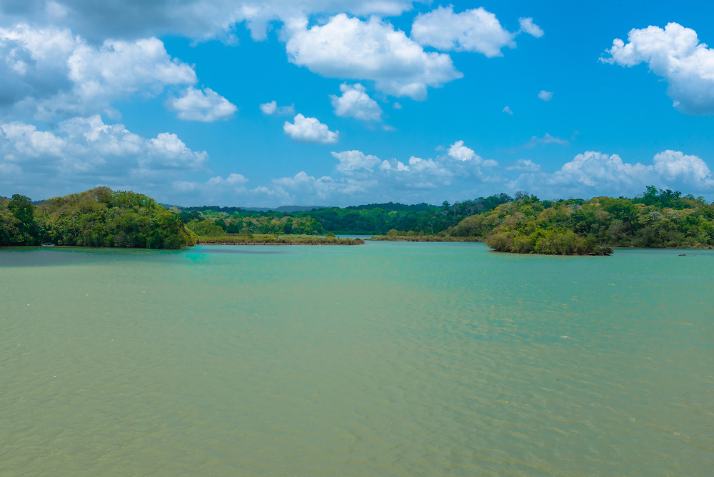 Man made Lake Gatun, is critical to the Panama Canal complex .