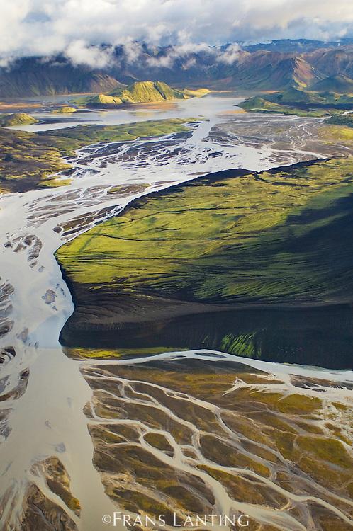 Landscape (aerial), Landmannalaugar,Iceland