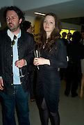 TIERAN COLTAR AND TALLULAH RILEY, The private view of exhibition 'The House of Viktor & Rolf', at The Barbican Gallery.  London.  June 17 2008. *** Local Caption *** -DO NOT ARCHIVE-© Copyright Photograph by Dafydd Jones. 248 Clapham Rd. London SW9 0PZ. Tel 0207 820 0771. www.dafjones.com.