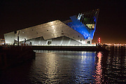 11 September 2009: The Deep, Hull, taken at night.  01482 486603.Picture:Sean Spencer/Hull News & Pictures 01482 210267/07976 433960.High resolution picture library at http://www.hullnews.co.uk.©Sean Spencer/Hull News & Pictures Ltd.