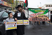 "Orthodox Jews of Neturei Karta who refuse to recognize the existence of a so-called ""State of Israel"", the opening procession of the event."