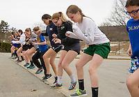 Gilford High School spring sports practice.    Karen Bobotas/for the Laconia Daily Sun