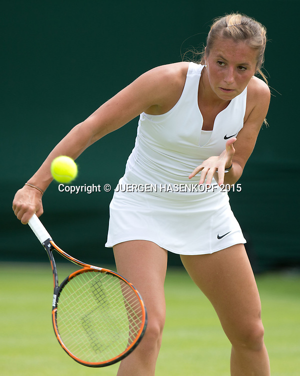 Annika Beck (GER)<br /> <br /> Tennis - Wimbledon 2015 - Grand Slam ITF / ATP / WTA -  AELTC - London -  - Great Britain  - 29 June 2015.