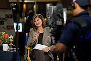 "CNBC Anchor/Editor Maria Bartiromo does her show ""Closing Bell"" live from the 2008 National Summit on American Competitiveness."