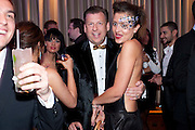 MARK ROW; ANIA PONIATOWSKA, The London Bar and Club awards. Intercontinental Hotel. Park Lane, London. 6 June 2011. <br /> <br />  , -DO NOT ARCHIVE-© Copyright Photograph by Dafydd Jones. 248 Clapham Rd. London SW9 0PZ. Tel 0207 820 0771. www.dafjones.com.