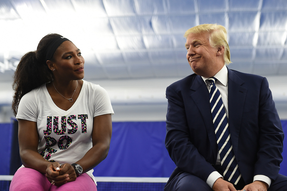 Grand opening of the Tennis Performance Center at Trump National Golf Club Washington, DC, in Sterling, VA, April 7, 2015.  Photo by Molly Riley