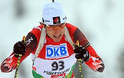 Brendan Green (CAN) at Men 20 km Individual at E.ON Ruhrgas IBU World Cup Biathlon in Hochfilzen (replacement Pokljuka), on December 18, 2008, in Hochfilzen, Austria. (Photo by Vid Ponikvar / Sportida)