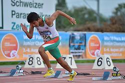 04/08/2017; Frasco, Pedro, T13, POR at 2017 World Para Athletics Junior Championships, Nottwil, Switzerland