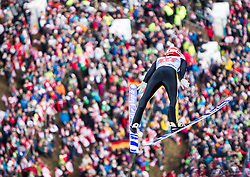 06.01.2014, Paul Ausserleitner Schanze, Bischofshofen, AUT, FIS Ski Sprung Weltcup, 62. Vierschanzentournee, Probesprung, im Bild Andreas Wellinger (GER) // Andreas Wellinger (GER) during Trial Jump of 62nd Four Hills Tournament of FIS Ski Jumping World Cup at the Paul Ausserleitner Schanze, Bischofshofen, Austria on 2014/01/06. EXPA Pictures © 2014, PhotoCredit: EXPA/ JFK