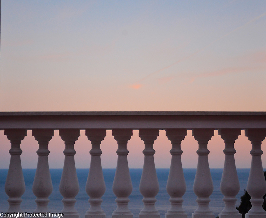Positano sunset, on the world-famous Amalfi Coast