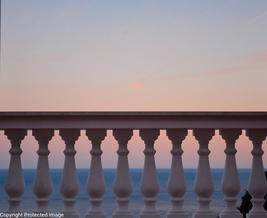 Positano sunset, on the world-famous Amalfi Coast