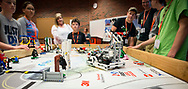 4-H Robotics sharing and workshop. Active teams shared with others in an effort to create more interest and help create more teams in the state.