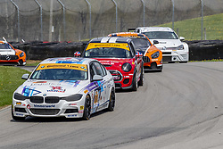 May 4, 2018 - Lexington, Ohio, United States of America - The BimmerWorld Racing BMW 328i races through the turns at the Mid-Ohio 120 at Mid Ohio Sports Car Course in Lexington, Ohio. (Credit Image: © Walter G Arce Sr Asp Inc/ASP via ZUMA Wire)
