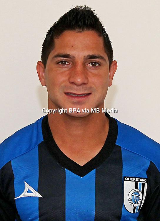 Mexico League - BBVA Bancomer MX 2014-2015 - <br /> Gallos Blancos - Queretaro Futbol Club / Mexico - <br /> Danilo Veron Bairros &quot; Danilinho &quot;