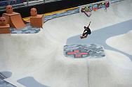 Ben Hatchell during Men's Skate Park Practice at the 2013 X Games Barcelona in Barcelona, Spain. ©Brett Wilhelm/ESPN