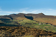 View across the Newlands valley to Crag Hill, Wandope and Grasmoor