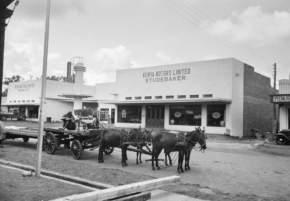 Petrol Filling Station, Nairobi, Kenya, Africa, 1937