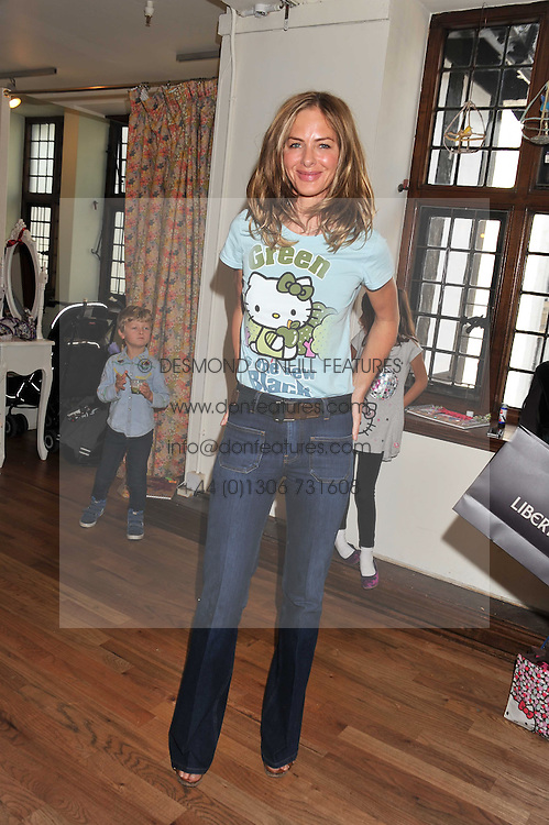 TRINNY WOODALL at a Hello Kitty Event at Liberty to lauch their collection of Hello Kitty products at Liberty, Great Marlborough Street, London on 25th September 2011.