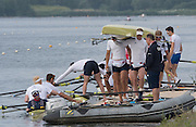 Caversham, Nr Reading, Berkshire.<br /> <br /> Boating from the pontoon. Olympic Rowing Team Announcement morning training before the Press conference at the RRM. Henley.<br /> <br /> Thursday  09.06.2016<br /> <br /> [Mandatory Credit: Peter SPURRIER/Intersport Images]