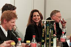 Ehning Markus (GER),  Beerbaum Ludger (GER) and HRH Princess Haya (JOR), Holmberg Sven (SWE)<br /> Rolex FEI World Cup Final - Geneve 2010<br /> © Dirk Caremans