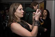 ANNE WINTER, Antony Micallef private at Lazarides Rathbone, 11 RATHBONE PLACE, London. 12 February 2015