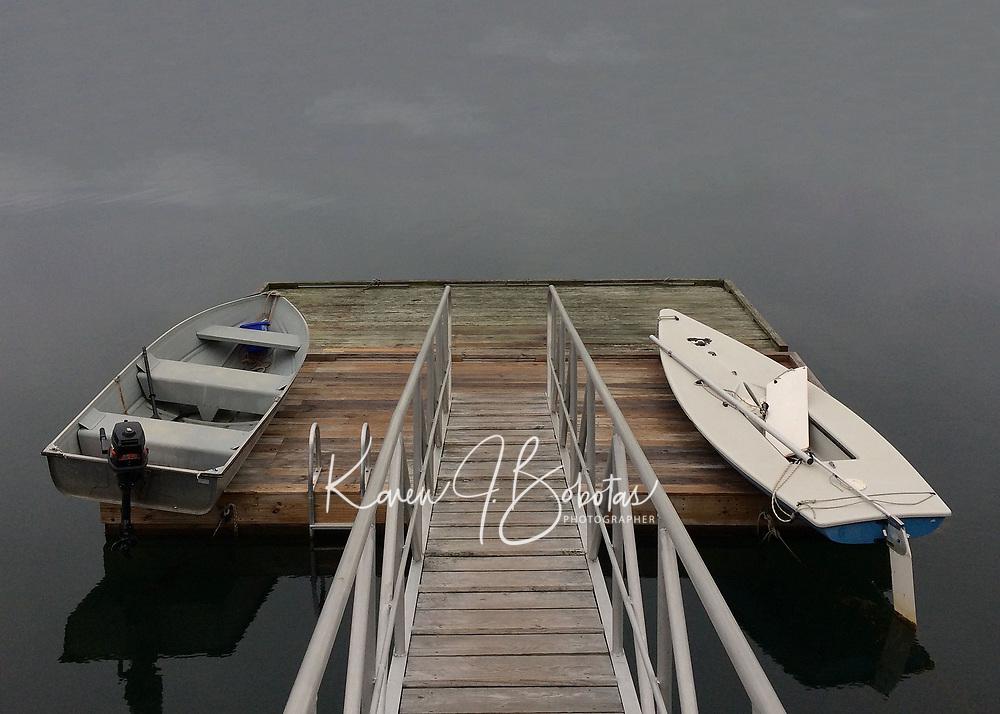 Boothbay Harbor and Monhegan Island Maine.  ©2017 Karen Bobotas Photographer