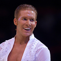 23 January 2010: Neil Jones is seen during the Masters Bercy Latin and Ballroom (standard) Dancesport Championship 2010, at Palais Omnisports Paris Bercy, in Paris, France. .