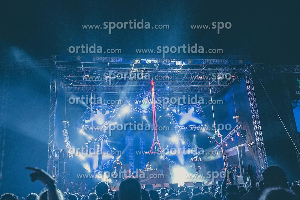 Music festival Schengen fest od / 1. August in Vinica, Slovenia.  Photo by Grega Valancic / Sportida
