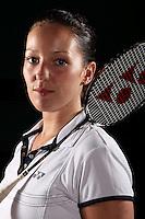 Jenny Wallwork Badminton England, World Championship Photoshoot, NBC, Milton Keynes, England, 2011