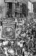 Kellingley Colliery Banner, 1984 Yorkshire Miner's Gala. Wakefield.