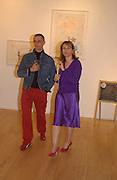 Kiko Randon and Anne Faggionato, Ellen Cantor: Crazy Treasure Hunt, Anne Faggionato,<br />© Copyright Photograph by Dafydd Jones 66 Stockwell Park Rd. London SW9 0DA Tel 020 7733 0108 www.dafjones.com