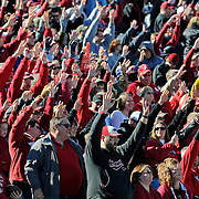 Before an NCAA college football game between Arkansas and Mississippi in Little Rock, Ark., Saturday, Oct. 27, 2012. (Photo/Thomas Graning)