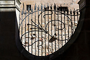 Railings of Casa Lis museum of art deco and art nouveau, Museo de Art Nouveau y Art Deco, Salamanca, Spain