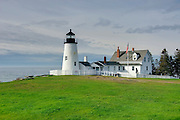 Pemaquid Point Lighthouse, Bristol Maine USA