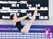 British Elite Junior Diving Championships  Day Three 040418