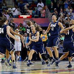 04-07-2013 NCAA Women's Final Four-Semi Finals-Uconn vs Notre Dame
