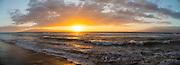 Sunset, North Kaanapali Beach, Maui, Hawaii