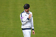 Liam Dawson of Hampshire during the Specsavers County Champ Div 1 match between Hampshire County Cricket Club and Surrey County Cricket Club at the Ageas Bowl, Southampton, United Kingdom on 6 September 2017. Photo by Graham Hunt.