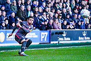 Leeds United midfielder Pablo Hernandez (19) passes the ball during the EFL Sky Bet Championship match between Queens Park Rangers and Leeds United at the Kiyan Prince Foundation Stadium, London, England on 18 January 2020.