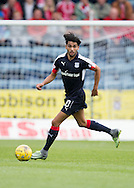 Dundee&rsquo;s Faissal El Bakhtaoui - Dundee v Aberdeen in the Ladbrokes Scottish Premiership at Dens Park, Dundee. Photo: David Young<br /> <br />  - &copy; David Young - www.davidyoungphoto.co.uk - email: davidyoungphoto@gmail.com