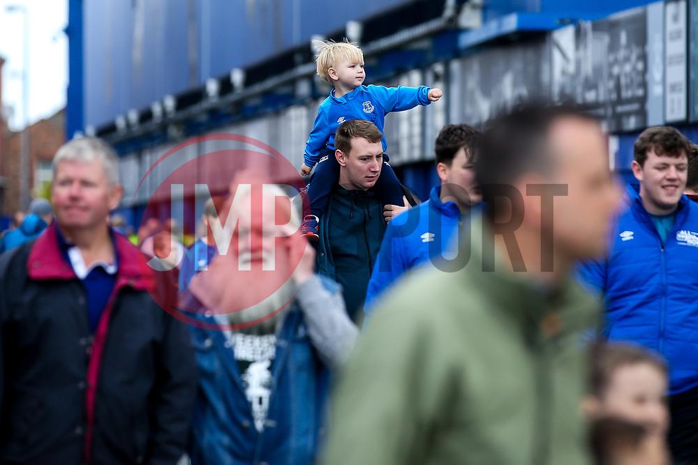 Everton fans arrive at Goodison Park - Mandatory by-line: Robbie Stephenson/JMP - 01/09/2019 - FOOTBALL - Goodison Park - Liverpool, England - Everton v Wolverhampton Wanderers - Premier League